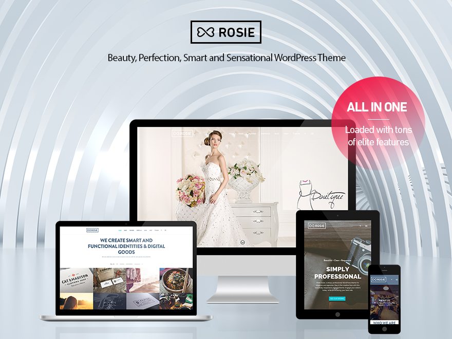 ROSIE - Multi Purpose WordPress Theme